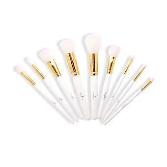Conjunto de cepilloblanco blanco Angie-L