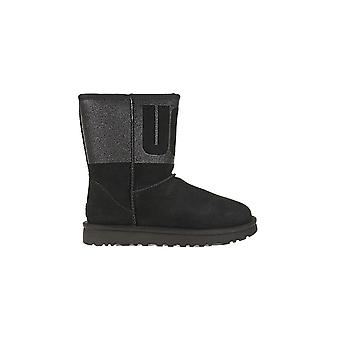 UGG Classic Short Sparkle 1096472BLK universal winter women shoes