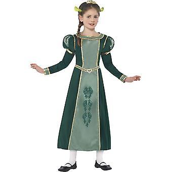 Shrek Princess Fiona Costume, Small Age 4-6