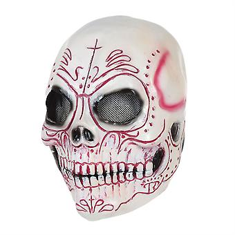 Skull Mask Colourful Latex