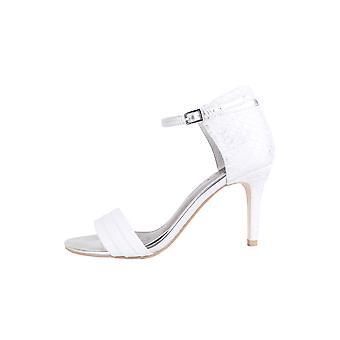 Lovemystyle Sandal hæle med metallisk slangeskind hæl