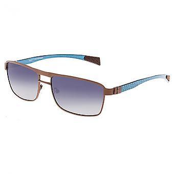 Razza Toro titanio e fibra di carbonio Polarized Occhiali da sole - Brown/Blue