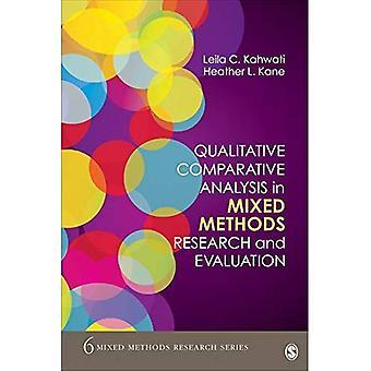 Qualitative vergleichende Analyse in gemischten Methoden Forschung und Evaluation (gemischte Methoden Forschungsreihen)