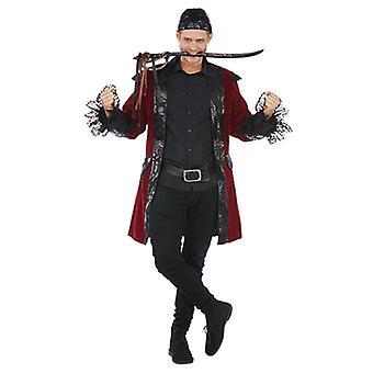 Freibeuter Herren Kostüm Seeräuber Pirat Karneval