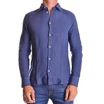 Altea Ezbc048012 Männer's blaues Leinen Shirt