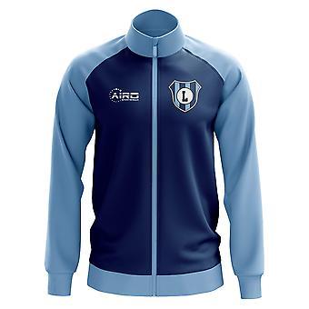 Lazio käsite jalkapallo Track Jacket (Yhdysvaltain laivasto)
