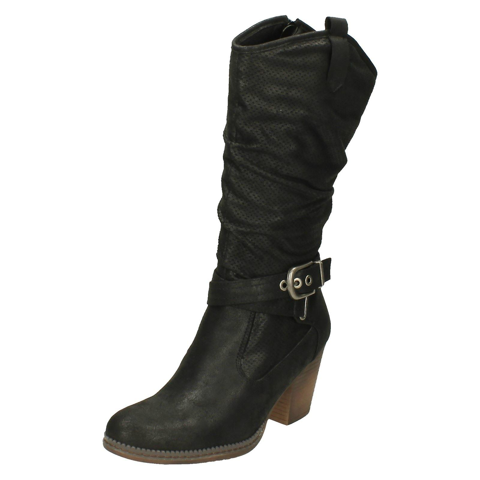 Ladies Down To Earth Calf Length Boots m6vlq