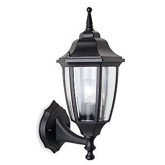 Firstlight-1 licht buitenmuur lantaarn-uplight Black IP44-8661BK