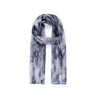 Intriga Womens/senhoras abstrata floral digital lenço de impressão
