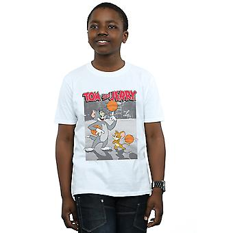 Tom And Jerry Boys Basketball Buddies T-Shirt