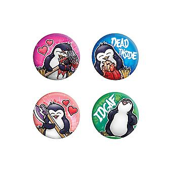 Psycho Penguin stirbt in Badge Pack