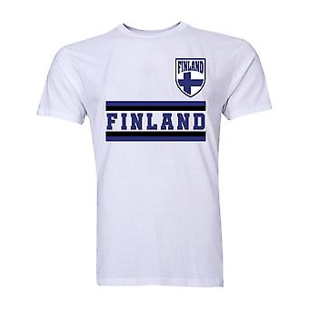 Finland Core Football Country T-Shirt (White)