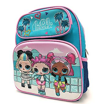 Small Backpack - LOL Surprise - Vacation 3D Blue 12