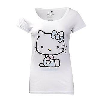 T-shirt hello Kitty White Ajusté pour femme