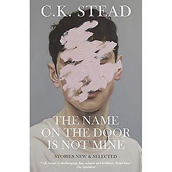 Der Name an der Tür ist nicht von mir