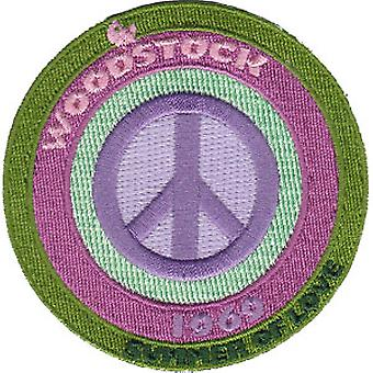 Patch - Woodstock - Peace New Iron-On p-3220