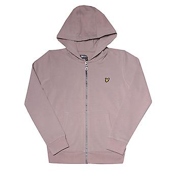 Infant Boys Lyle und Scott Classic Zip Hoody in grau.