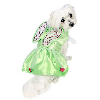 Tinkerbell Fairy Novelty Funny Dog Pet Fancy Dress Costume