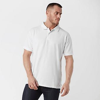 Nieuwe Brasher Men's Calder Polo Shirt White