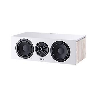 B-ware Heco Aurora centrum 30 2-drożny bass reflex głośnik centralny, kolor: Ivory white, 1 szt.
