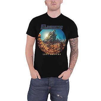 Eliminator T Shirt Last Horizon Band Logo new Official Mens Black