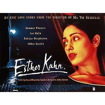 Esther Khan originele Cinema poster