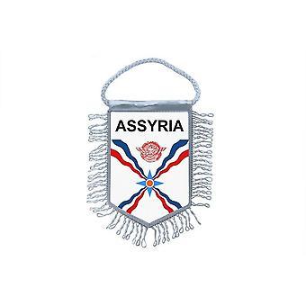 Flag Mini Flag Country Car Decoration Assyria Assyrian Assyria