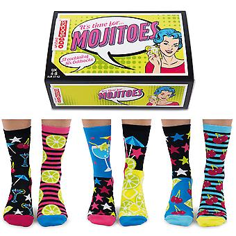 United Oddsocks Women's Mojitoes Socks Gift Set