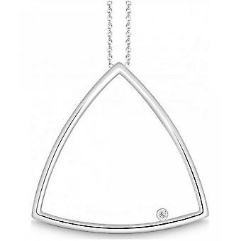 QUINN - Necklace - Ladies - Silver 925 - Diamond - Wess. (H) - piqué - 271789