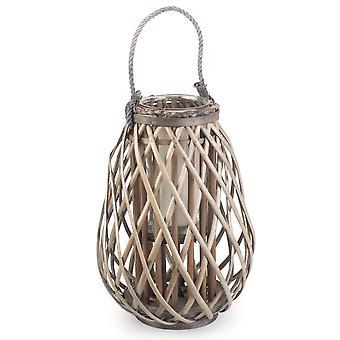 Split Grey Willow Raindrop Lantern