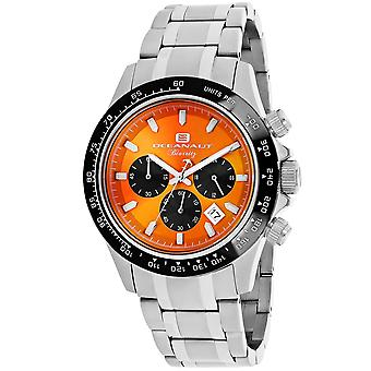 Oceanaut Men's Biarritz Orange Zifferblatt Uhr - OC6120