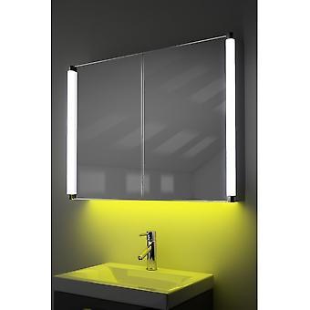 Páraszekrény LED-es világítással, érzékelővel és belső borotvával k318