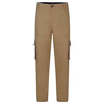 Animal Alamos Cargo Pants in Dijon Brown