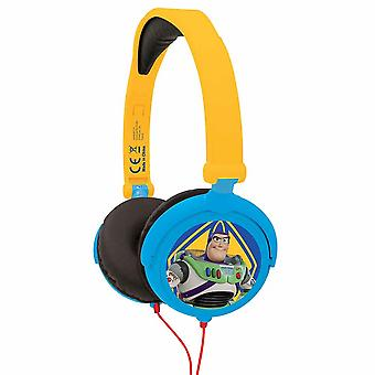 Lexibook Toy Story 4 Stereo Headphone Foldable & Adjustable Blue/Yellow HP015TS