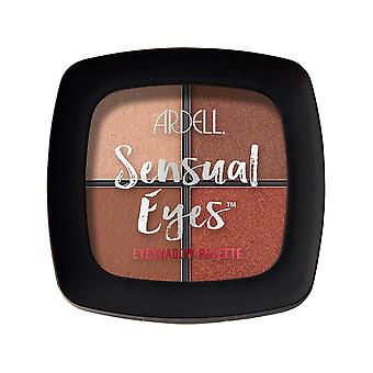 Ardell Beauty High Pigmented 4 Shade Sensual Eyeshadow Palette - Cabana