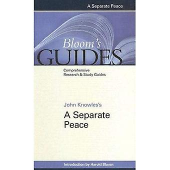 A Separate Peace (Bloom's Guides) (Bloom's Guides (Hardcover))