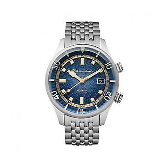 Spinnaker - Montre - Hommes - Bradner acier - SP-5062-22 - Bleu