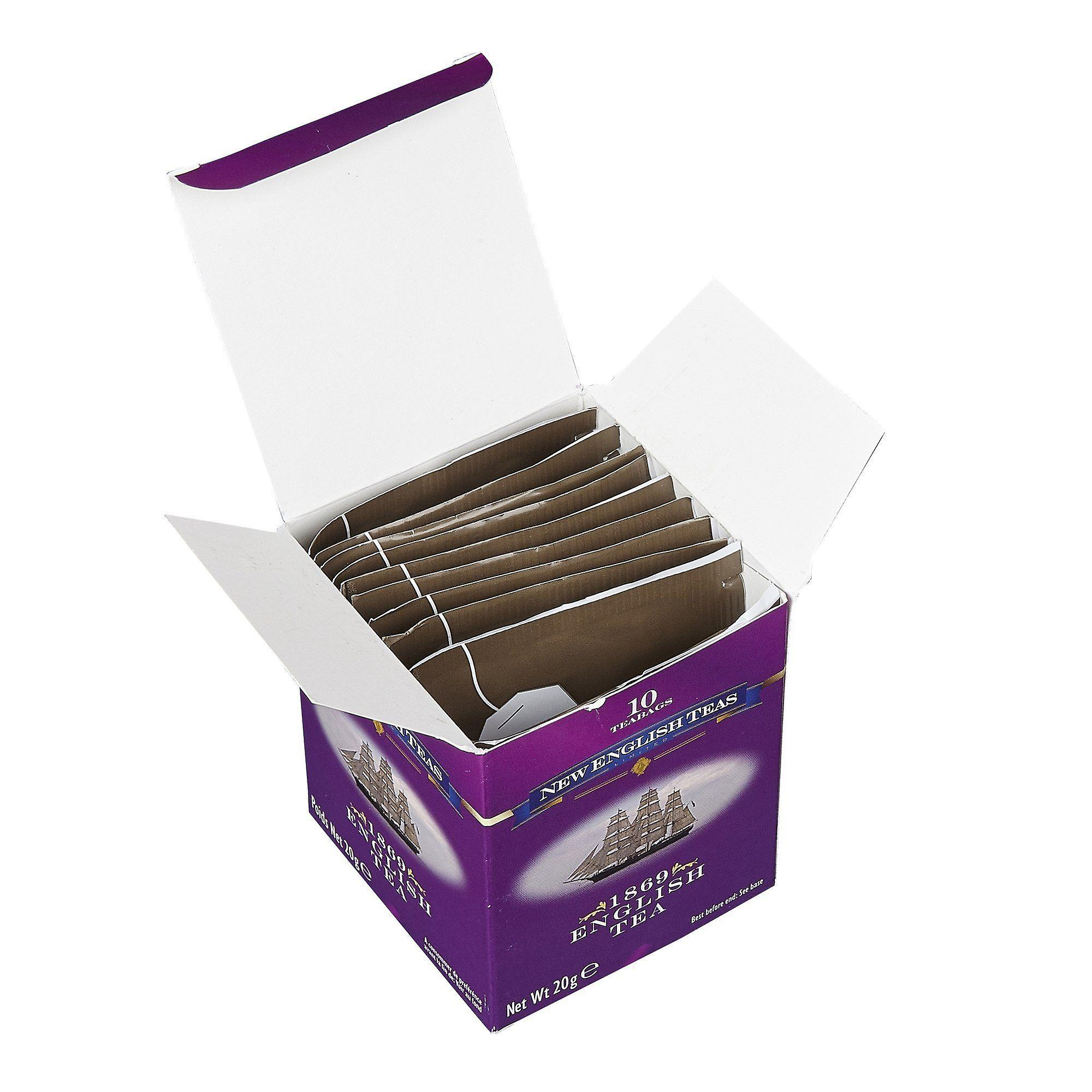 Classic 1869 english tea 10 individually wrapped teabags