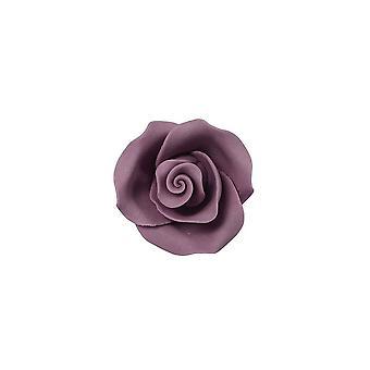 SugarSoft syötävä kukka-ruusu violetti 38mm-kotelo 20