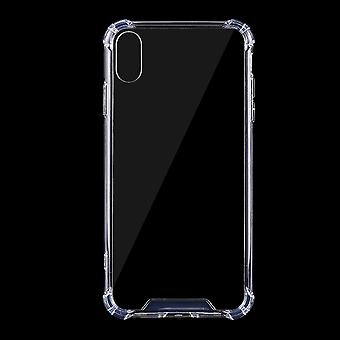 For iPhone XR Case Transparent Ultra-thin TPU Back Shell Cover Bumper Protection