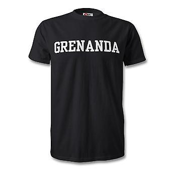 البلد جريناندا للأطفال تي شيرت