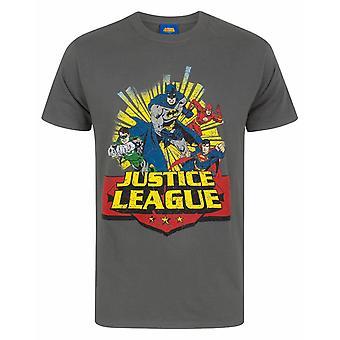 Liga de la Justicia Comic Men's Camiseta