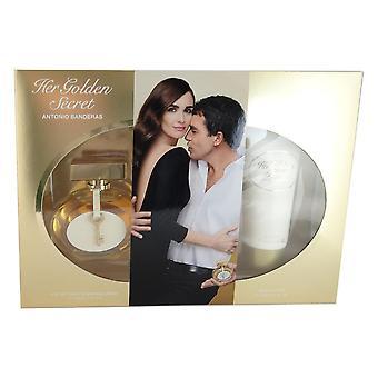 Her golden secret for women by antonio banderas 2.7 oz eau de toilette spray