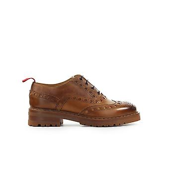 BARRACUDA LEATHER DERBY LACE-UP SHOE