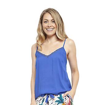 Cyberjammies 4446 Kvinnor & apos, s Alicia Royal Blue Modal Cami Pyjama Top