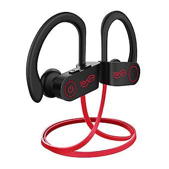 IONCT U8 TWS Wireless Earphones Bluetooth 5.0 Air Wireless Pods Earphones Earbuds 110mAh Red