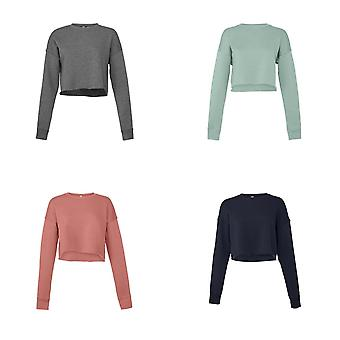 Bella + Canvas Ladies Cropped Sweatshirt