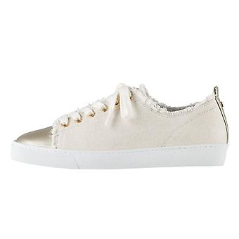 Högl 7-10 0358 Cotton Club Lace Up Canvas Sneakers In Cotton