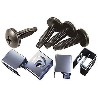 Hammond 10-32 Mounting Screw & Clip Nut Pack of 25