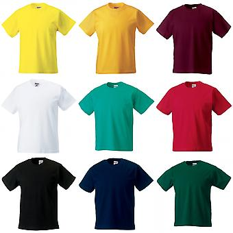 Jerzees Schoolgear Childrens Classic Plain T-Shirt